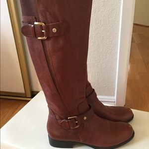 New Leather Brown Riding Boots